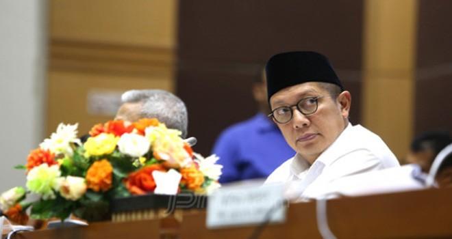 Menteri Agama Lukman Hakim Saifuddin. Foto : Ricardo / JPNN