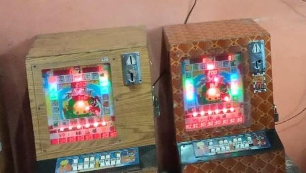 Mesin judi jackpot yang diamankan oleh jajaran Polda Jambi saat melaksanakan Operasi Pekat.