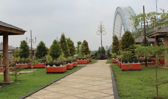 Taman SPM di Muara Sabak Timur. Foto : Ist