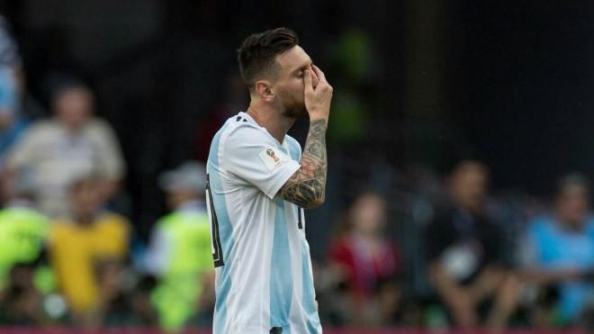 Lionel Messi/PA