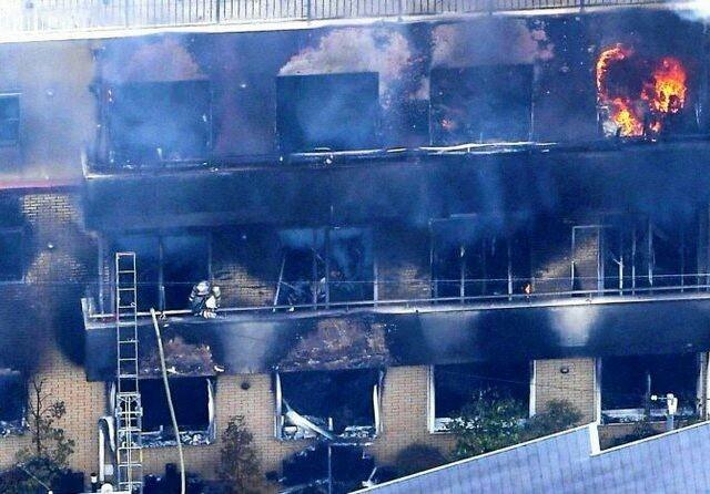Kebakaran melanda di Kyoto Animation Co, Jepang. Setidaknya 26 orang tewas (WREG.com)