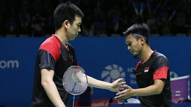 Indonesia Open 2019 Hendra Setiawan dan Muhammad Ahsan/Badminton Indonesia.