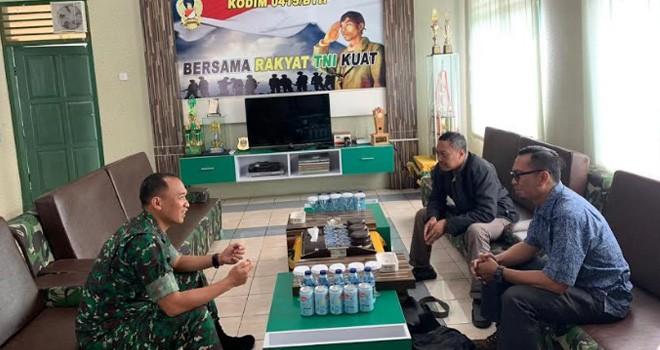 Tim Mabes TNI AD Akan Tinjau Program TMMD ke-105 di Desa Ladang Paris.