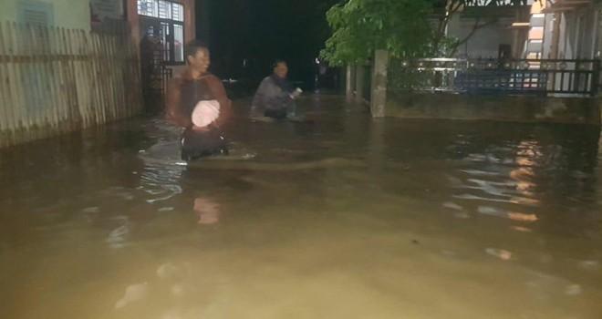 Empat Desa di Kerinci Diterjang Banjir Bandang.