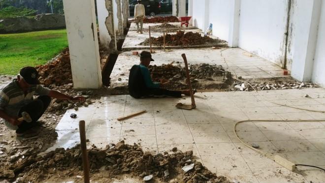 Proyek Rehab Kantor Bupati 4,9 Milyar Pakai Fasiltas Negara.