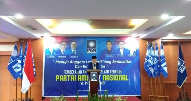 Ketua Umum DPP PAN, Zulkifli Hasan (Zulhas)