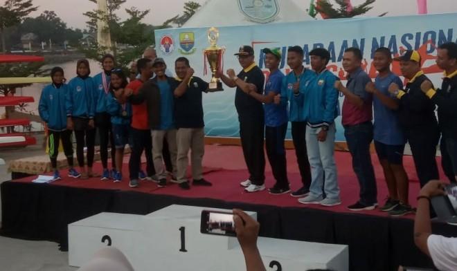 Jambi Raih Juara Umum Kejurnas Dayung PPLP/PPLPD/SKO.