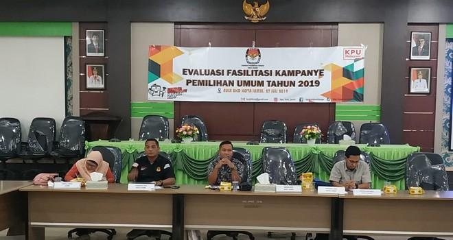 Evaluasi fasilitasi Pemilihan Umum (Pemilu) 2019.