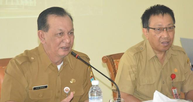 Sekda Provinsi Jambi, M. Dianto.