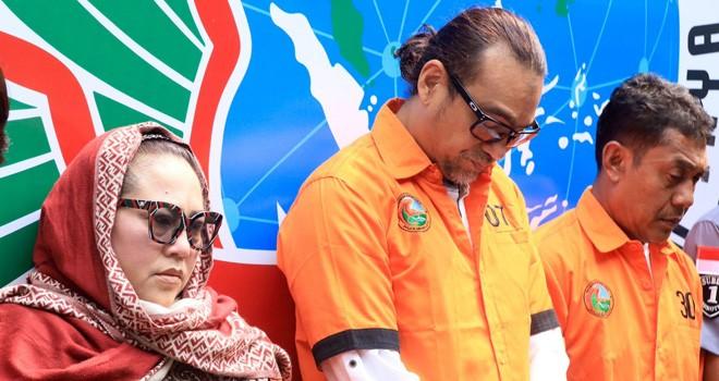 Nunung dan suaminya, Jan Sambiran, direkomendasikan untuk direhabilitasi (Dery Ridwansah/JawaPos.com)