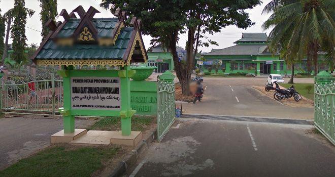 Rumah Sakit Jiwa (RSJ) Jambi.