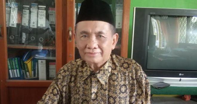 Ketua DPW NU Provinsi Jambi Aminullah Amit.
