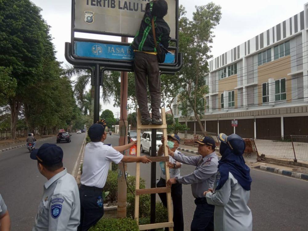 Tim Melakukan Sipantas, Yang dipimpin langsunh Kepala BPTD Wilayah V Jambi, Ardono.