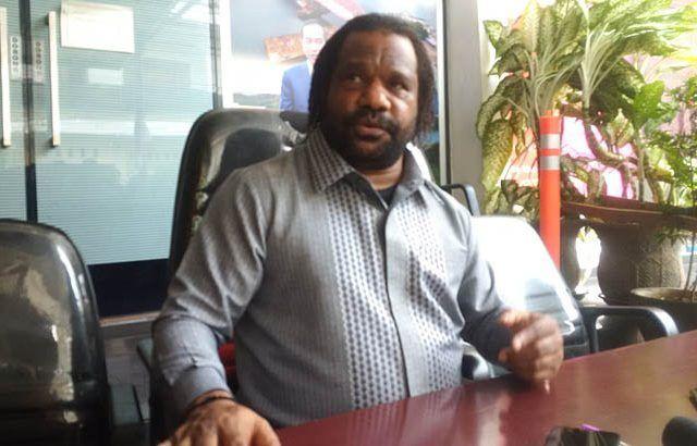 Ketua Masyarakat Adat Tanah Papua atau Kepala Suku, Lenis Kogoya.