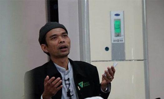 Ustadz Abdul Somad saat peringatan Idul adha 1440 H di KBRI Bandar Seri Bengawan Brunei Darussalam.