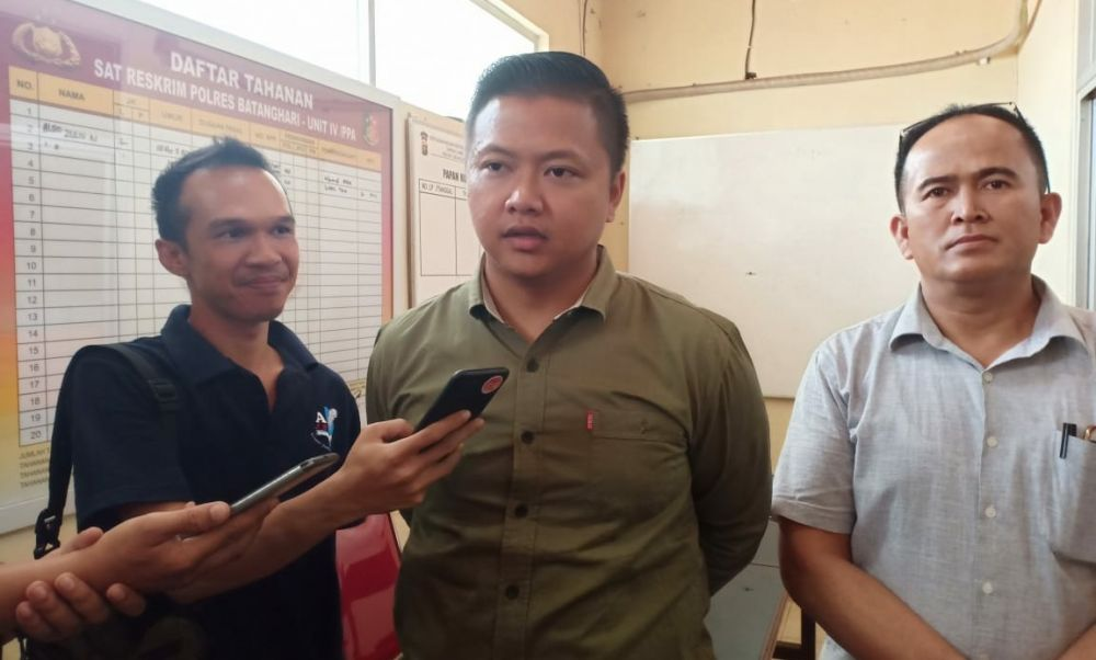Kasat Reskrim Polres Batanghari, AKP Dhadhag Anindito.