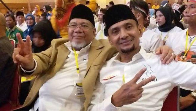 Ketua Dewan Pertimbangan Kadin Jambi H Mardinal dan Ketua Kadin Jambi Usman Sulaiman.