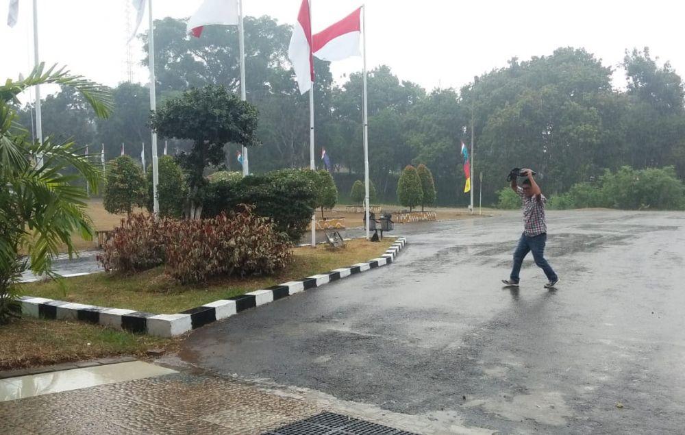Tanjung Jabung Timur (Tanjabtim)  diguyur hujan, (27/8)