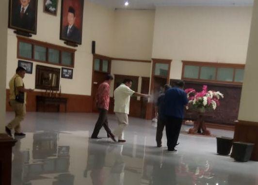 Sejumlah ketua partai di Provinsi Jambi yang juga merupakan anggota DPRD Provinsi Jambi terpilih pada Pileg 2019 lalu, menggelar pertemuan siang ini (2/9).