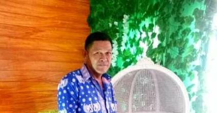 Kepala Syahbadar Desa Air Hitam Laut yang dikabarkan hilang dilaut.