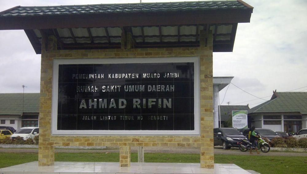 RSUD Ahmad Ripin.