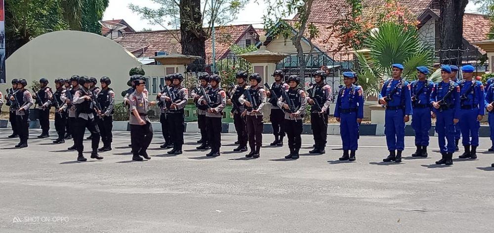 Polda Jambi kembali mengirimkan Personel Bawah Kendali Operasi (BKO) ke Polda Papua.