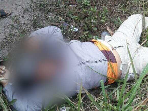 Mayat yang ditemukan Tergeletak di Jalintim.