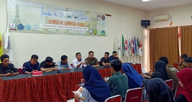 Kopipede Ajak Pemuda Peduli dan Kritis Terhadap Calon Pemimpin Jambi.