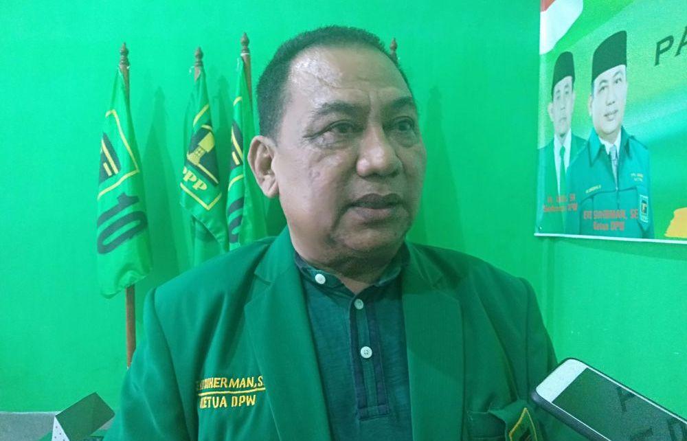 Ketua DPW PPP Provinsi Jambi, Evi Suherman..