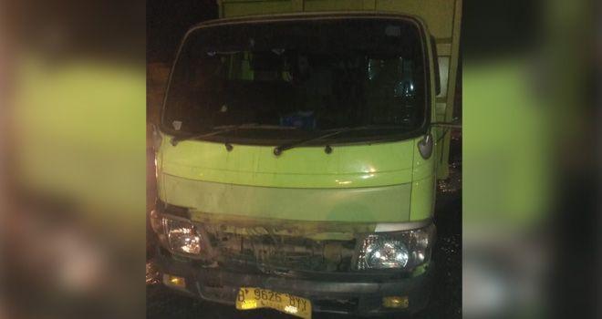 Kecelakaan Lalu lintas yang melibatkan kendaraan pengangkut batubara di wilayah Hukum Polres Muarojambi.