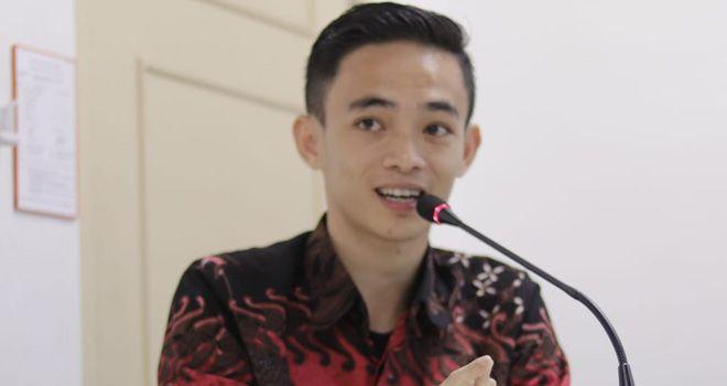 Doni Ropawandi, mantan Presiden Perhimpunan Pelajar Indonesia (PPI) Malaysia.