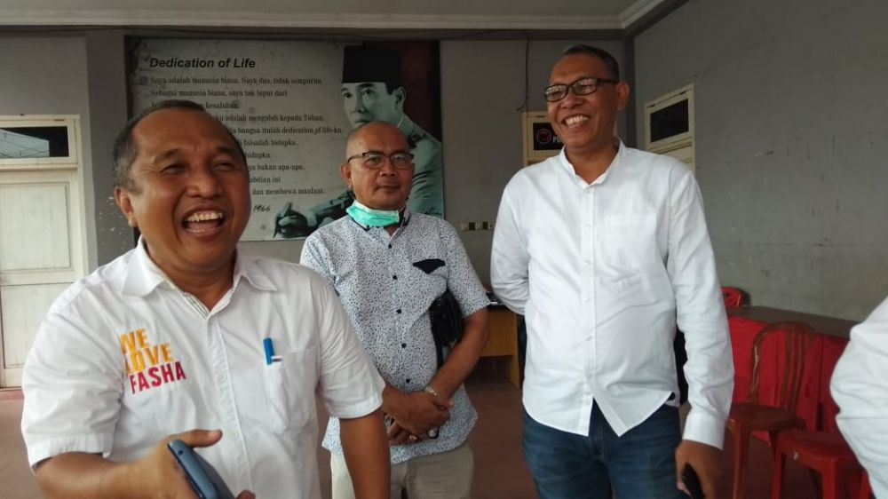 Diwakili Sejumlah Tim, Fasha Ambil Formulir Penjaringan di PDI Perjuangan.