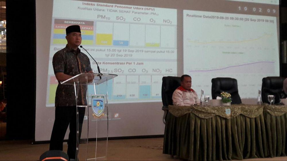 Walikota Jambi DR. Syarif Fasha, ME.