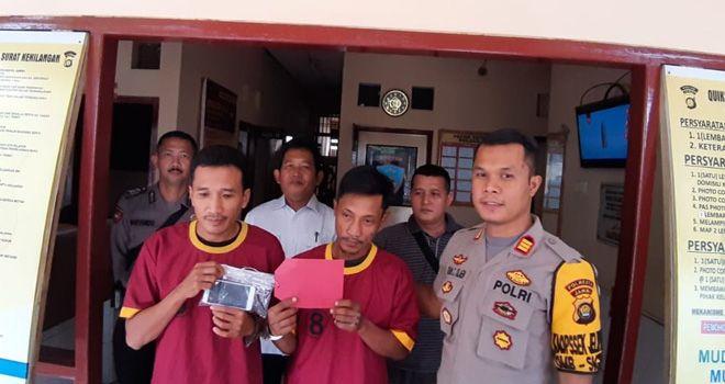 Dua Pelaku Jambret Jalanan di Kota Jambi Diringkus Polisi.