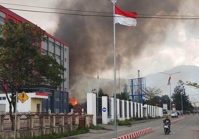 Kerusuhan di Wamena, Papua.