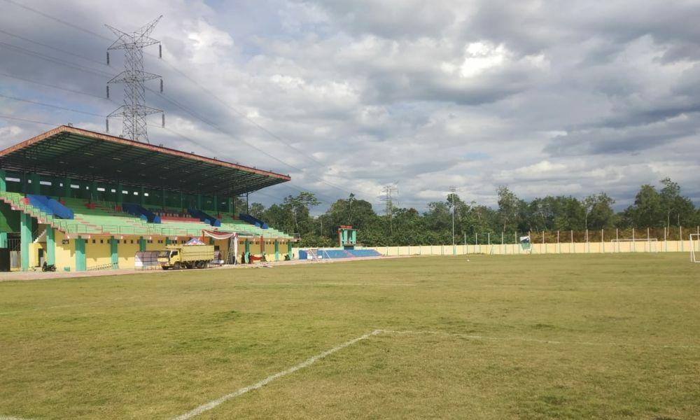 Aliran Listrik Stadion Kebanggaan Merangin Diputus.