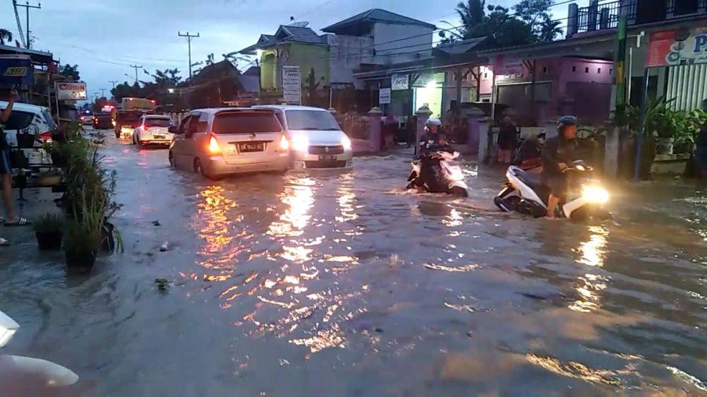Ratusan Rumah di Enam Desa Kerinci Terendam Banjir.