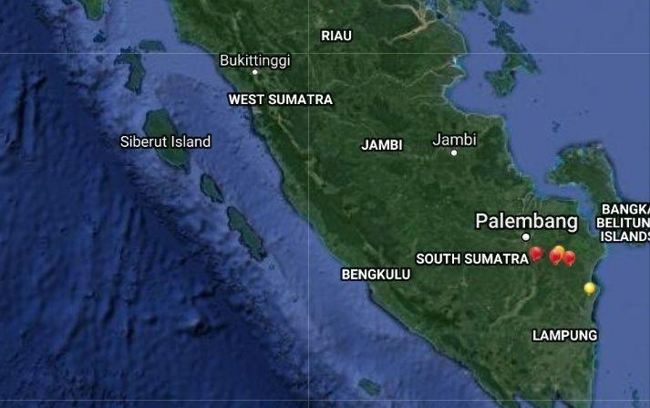 Status siaga darurat bencana asap akibat Kebakaran Hutan dan Lahan (Karhutla) di provinsi Jambi.