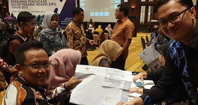 Waldi Bakri, Kepala BKPSDM Sarolangun saat berada di hotel Bidakara Jakarta.