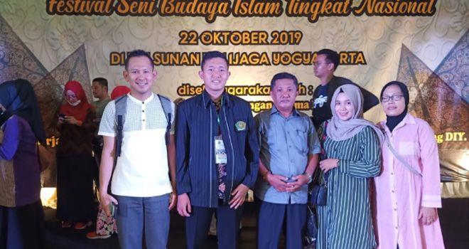 Peserta dan utusan Jambi pada Festival Seni Budaya Islam Usai mengikuti Technikal Metting belum lama ini.
