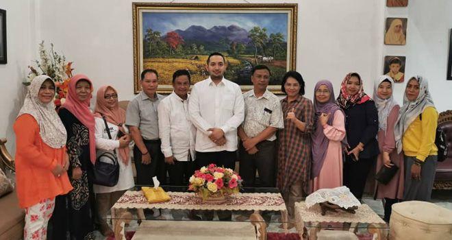 Pinto Jayanegara menghadiri peringatan Hari Pangan Sedunia (HPS) 2019, di Sulawesi Utara (Sultra), Jumat (1/11).