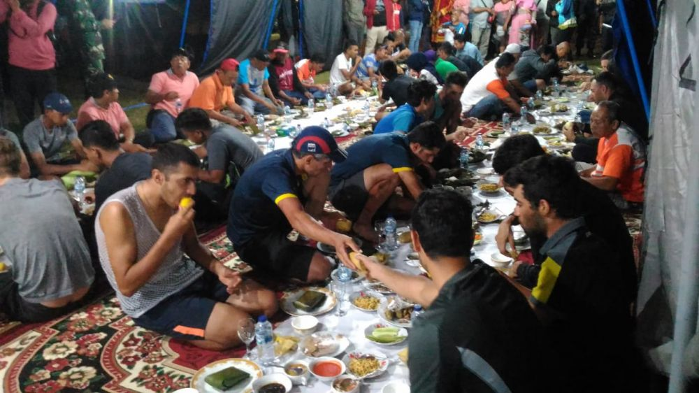 Sampai di Kerinci, Nasi Ibat dan Jagung Jadi Makanan Favorit Peserta TDS