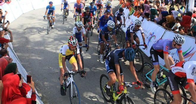 Etape VII Tour de Singkarak (TdS) 2019 menyisakan 75 pembalap