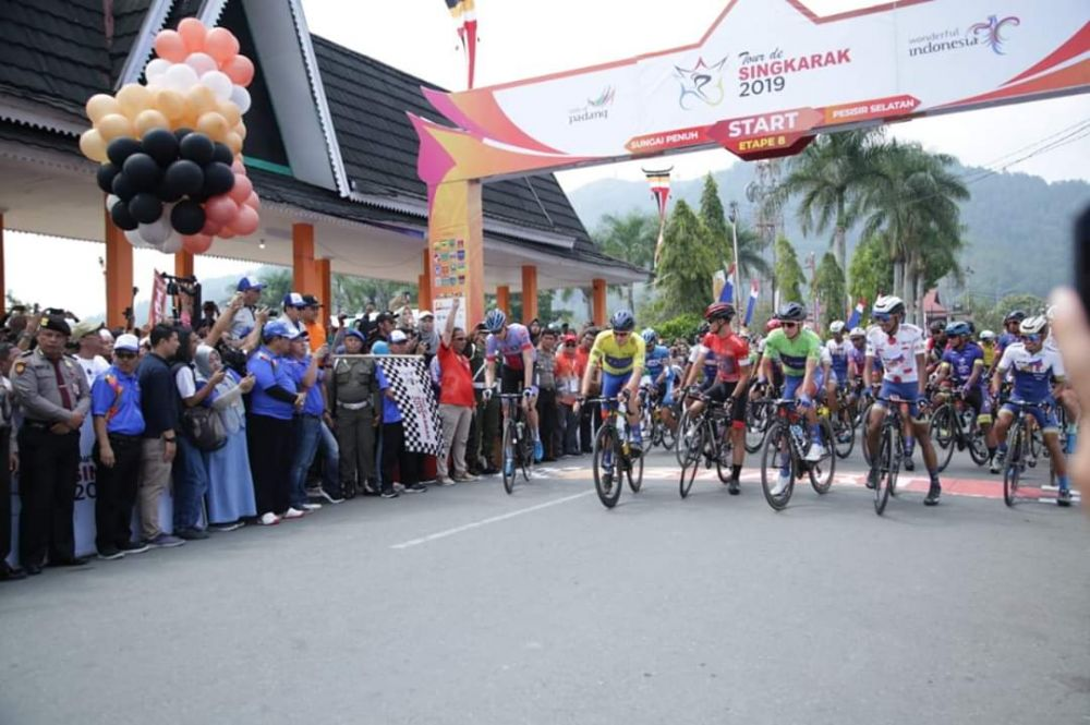 Start Semarak Etape 8 TdS Kota Sungai Penuh.