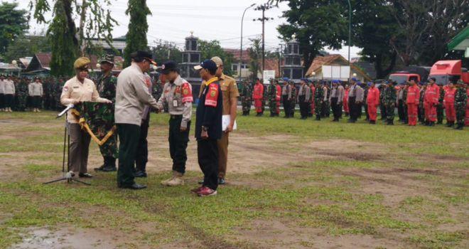 Sekda Provinsi Jambi, M Dianto resmi menutup Satuan Tugas Gabungan (Satgasgab) Kebakaran Hutan dan Lahan (Karhutla).