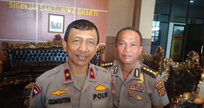 Wakapolda Polda Jambi Brigjen pol C.B.S Nasution.