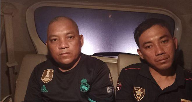 Dua pelaku yang berhasil diamankan yakni Abdul Salam (56), bersama anaknya Roli (33).