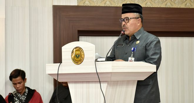 Kepala Badan Kepegawaian Daerah (BKD) Provinsi Jambi Husairi.