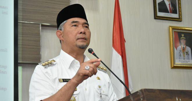 Walikota Jambi Syarif Fasha.