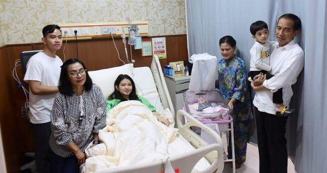 Putra sulung Jokowi, Gibran Rakabuming Raka baru saja dikaruniai anak kedua setelah istrinya, Selvi Ananda melahirkan bayi perempuan Jumat (15/11/2019) kemarin.